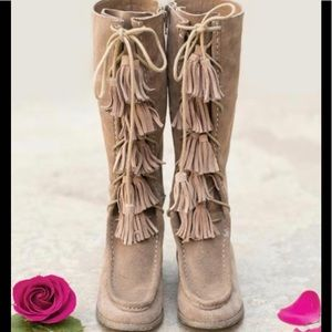 Darling Suede little girl boots 👢